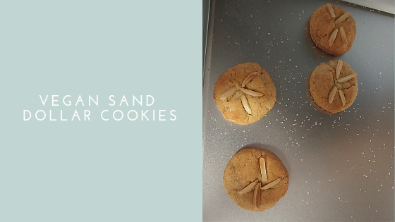Vegan Sand Dollar Cookies