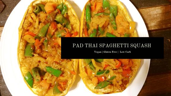 Pad Thai SpaghettiSquash