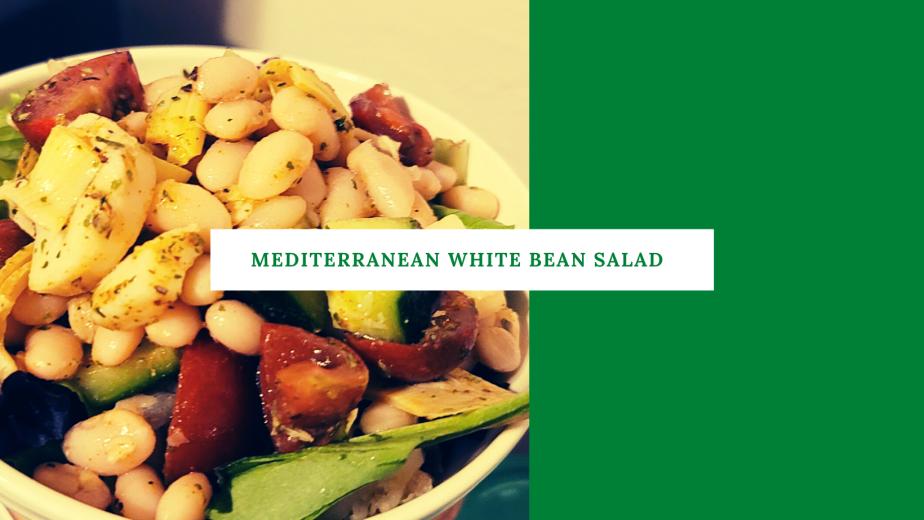 Mediterranean White BeanSalad
