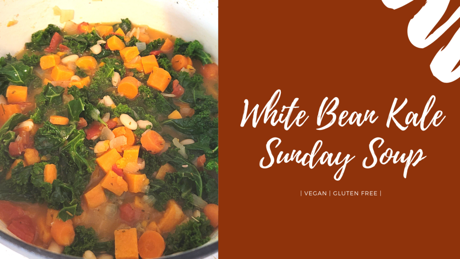 White Bean Kale Sunday Soup